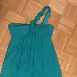 BCBG floor-length gown